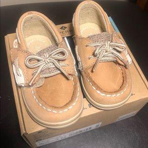 Sperry Infant girls boat shoe